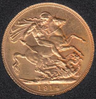 1914 Canada Gold Sovereign