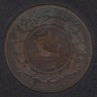 New Brunswick - 1861 - 1 Cent