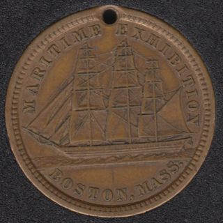 1889 - 1890 - Boston Maritime Exhibition