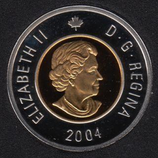 2004 - Proof - Silver - Canada 2 Dollar