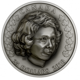 2018 - $25 - 1 oz. Pure Silver Coin - Her Majesty Queen Elizabeth II: The Young Princess