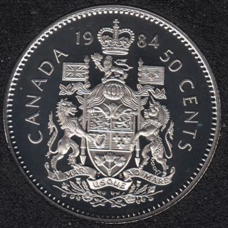 1984 - Proof - Canada 50 Cents