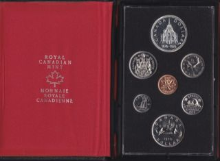 1976 CANADA DOUBLE DOLLAR SPECIMEN SET
