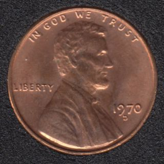 1970 D - B.Unc - Lincoln Small Cent