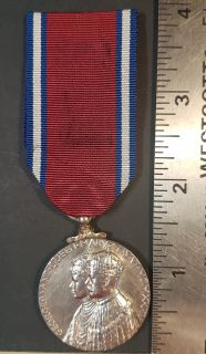 #1-239 King George V and Queen Mary Silver Jubilee Medal 1935