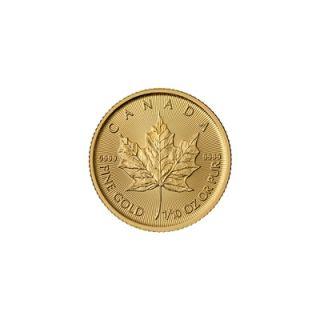 2015 - 1/10 oz Feuille d'Erable Canadienne * TÉLÉPHONE SEULEMENT *