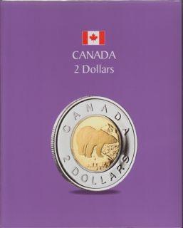 KASKADE Canadian Coin Albums - 2 Dollars
