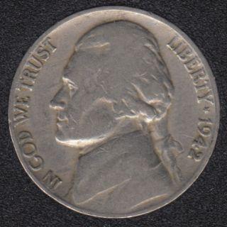 1942 - Jefferson - 5 Cents