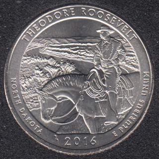 2016 P - T. Roosevelt - 25 Cents