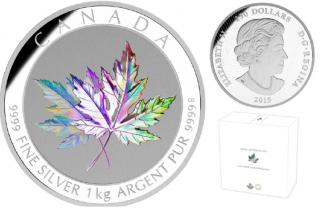 2015 - $250 - holographique de un kilogramme en argent fin - La richesse d'un symbole