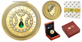 2016 - $250 - Pure Gold Coin – A Celebration of Her Majesty's 90th Birthday
