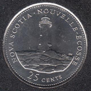 1992 - #9 B.Unc - Nouvelle Ecosse - Canada 25 Cents