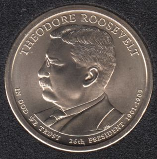 2013 P - T. Roosevelt - 1$