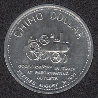 1971 - Saskchimo Expo -Saskatoon Sk - Chimo $1