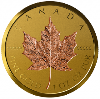 2019 - $200 - 99.999% 1 oz. Pure Gold Coin - 40th Anniversary of the Gold Maple Leaf