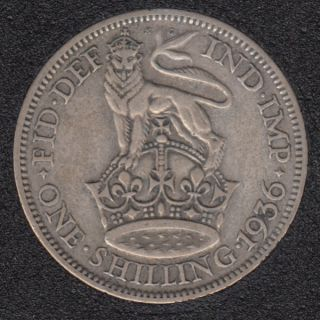 1936 - Shilling - Grande Bretagne