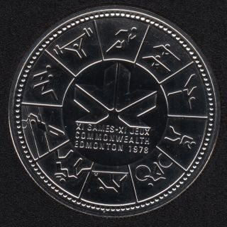 1978 - NBU - Canada Argent Dollar