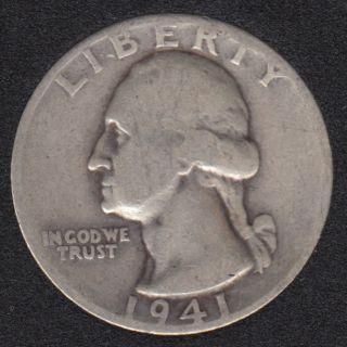 1941 D - Washington - 25 Cents