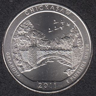2011 P - Chickasaw - 25 Cents