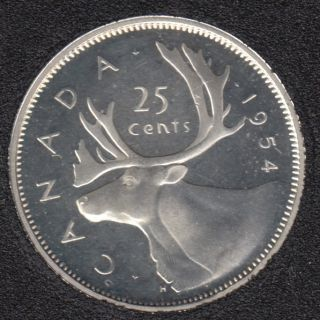 1954 - PL - Canada 25 Cents