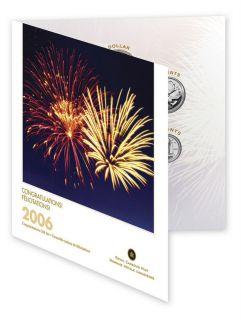 2006 Canada Gift Set - 7 Coins - Congratulations