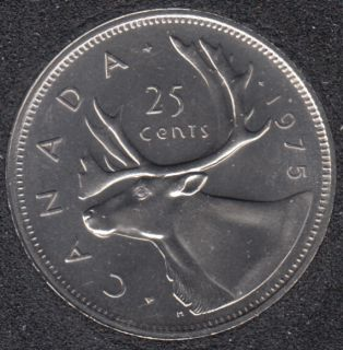 1975 - B.Unc - Canada 25 Cents