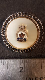 #131 Royal Canadian Legion Mother Of Pearl Pin Brooch