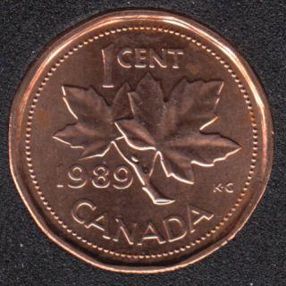 1989 - B.Unc - Canada Cent