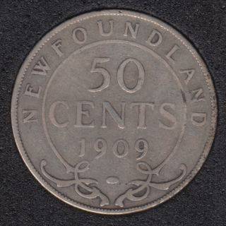 Newfoundland - 1909 - 50 Cents