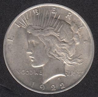 1922 - Peace - Dollar