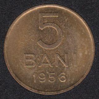1956 - 5 Bani - B.Unc - Roumanie