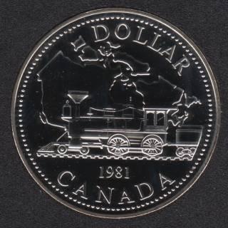 1981 - NBU - Canada Silver Dollar