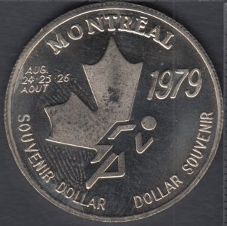 Montreal - 1979 - I.A.A.F World Cup - Pole - Souvenir $1