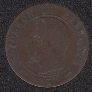 1857 A - 5 Centimes - France