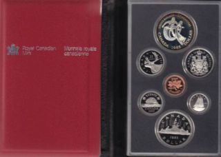 1983 CANADA DOUBLE DOLLAR PROOF SET