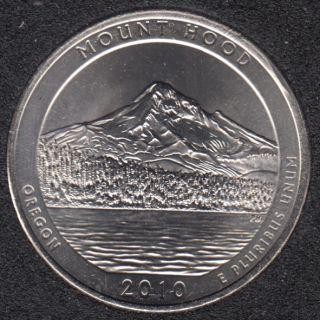 2010 P - Mount Hood - 25 Cents