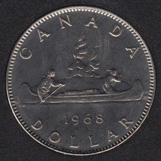 1968 - B.Unc - Nickel - No Island - Canada Dollar
