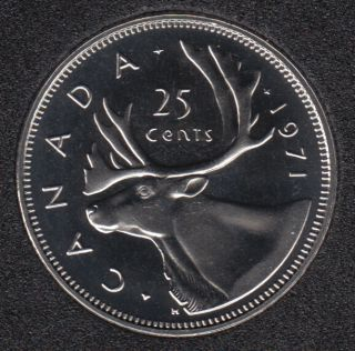 1971 - Proof Like - Canada 25 Cents