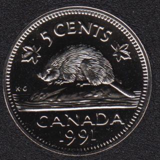 1991 - NBU - Canada 5 Cents