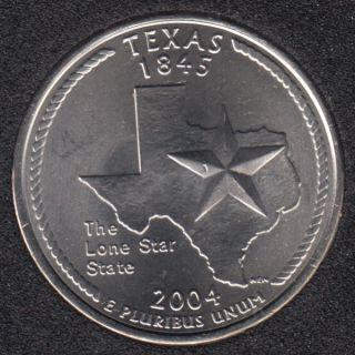 2004 P - Texas - 25 Cents