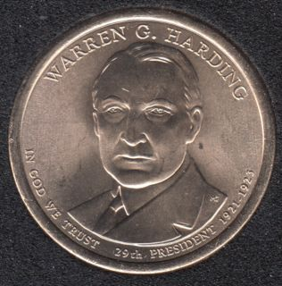2014 D - W.G. Harding - 1$