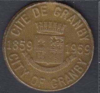 Granby - 1959 - 1859 - Centenaire de Granby - 25¢ Trade Dollar