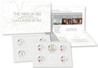 2013 - Special Edition Uncirculated Set - The War of 1812