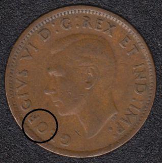 1943 - Break O to Rim - ML to Rim - Canada Cent