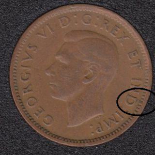 1946 - Break D to Rim - Canada Cent