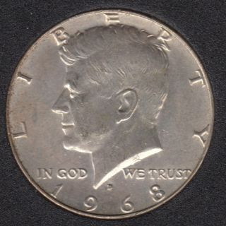 1968 D - Kennedy - 50 Cents