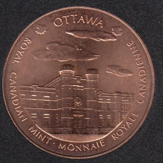 1999 - Bronze - Royal Canadian Mint - Ottawa/Winnipeg - Medaille