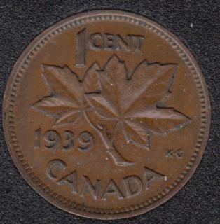 1939 - Canada Cent