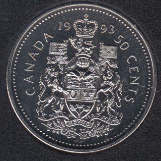 1993 - NBU - Canada 50 Cents