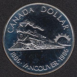 1986 - NBU - Argent - Canada Dollar